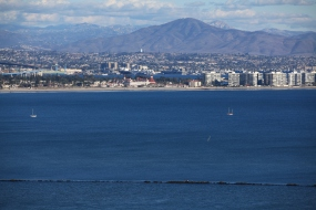 Hotel del Coronado and Mount San Miguel