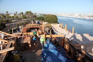 View from the San Salvador deck