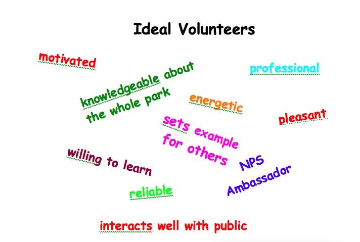 Ideal Volunteers
