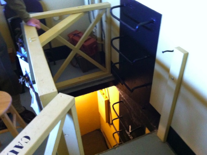Ladder to Bunkroom