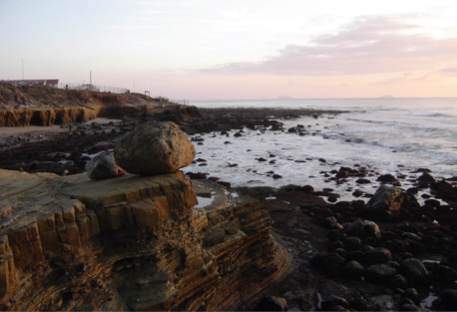 A low tide at Cabrillo National Monument