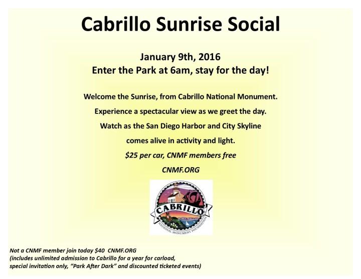 Sunrise Social 2