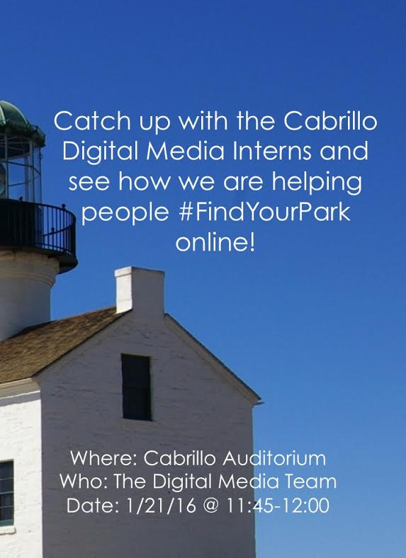 CABRILLO INTERNS