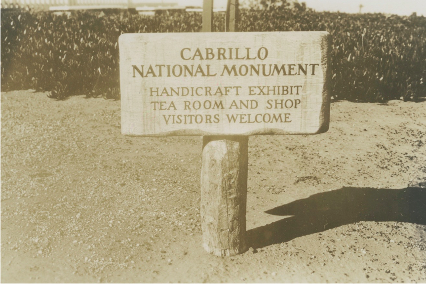 NPS Archives - Sign Outside the Lighthouse