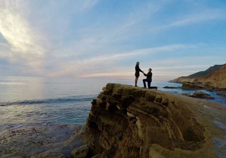 Marriage Proposal at Cabrillo