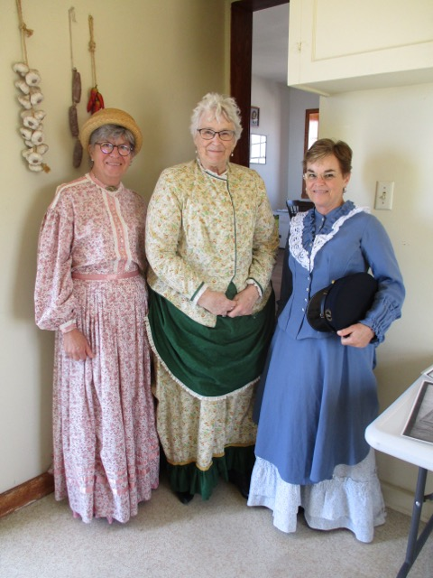 Volunteers in Period clothing for Open Tower Day
